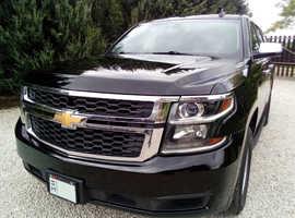 Chevrolet Tahoe, 2016 Black Tourer, Automatic Petrol, 200,320 km auto,4x4 8 passanger