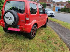 Suzuki Jimny, 2007 (07) Red Estate, Manual Petrol, 69,529 miles