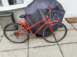 classic peugeot ladies cycle,