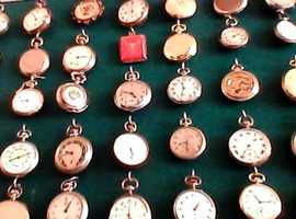SWAP 70 QUALITY POCKET WATCHES  for early landrover