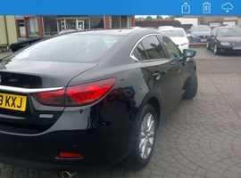 Mazda MAZDA 6, 2013 (13) Black Saloon, Manual Diesel, 132,000 miles