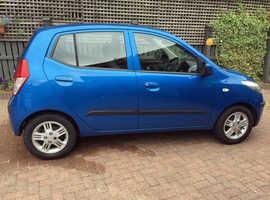Hyundai i10 Comfort, 2010  Blue Hatchback, Automatic Petrol, 19,000 miles