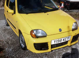 Fiat Seicento, 2001, 1.1 sporting 55,000 miles