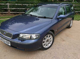 Volvo V70 SERIES, 2002 (52) Blue Estate, Manual Diesel, 184,300 miles