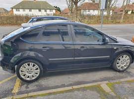 Ford Focus, 2006 (55) Black Hatchback, Manual Petrol, 181,985 miles