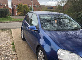 Volkswagen Golf, 2004 (54) Blue Hatchback, Manual Diesel, 154,000 miles
