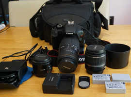 Cannon T2i/550D Camera Kit (with three lenses)