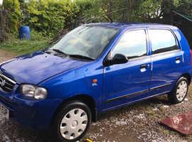 Suzuki Alto, 2005 (54) Blue Hatchback, Manual Petrol, 21,399 miles