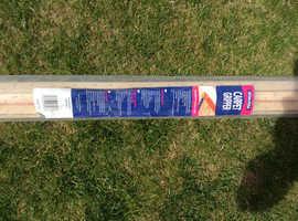 Free carpet gripper rods