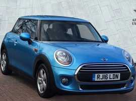 Mini MINI, 2016 (16) Blue Hatchback, Manual Petrol, 28,800 miles