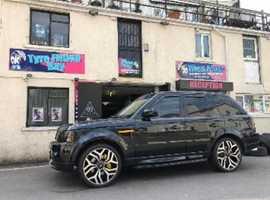 Land Rover Range Rover Sport, 2007 (57) Black Estate, Automatic Diesel, 115,587 miles