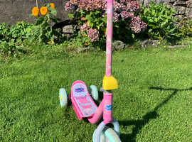 Children's Pepper Pig scooter