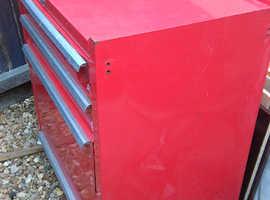 Steel Tool Cabinet.