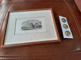 GREAT YARMOUTH GRAMMAR SCHOOL BUTTONS AND PRINT