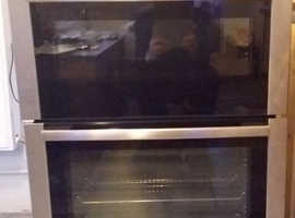 Used neff double oven built in
