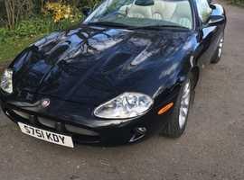 Jaguar XKR Convertible 1998 (S) Black Sports, Automatic Petrol, 81,300 miles