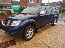 Nissan Navara, 2012 (61) Blue 4x4, Manual Diesel, 65,000 miles