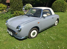 Nissan Figaro 1991 Lapis Grey Automatic Petrol, 64,560 miles, excellent condition