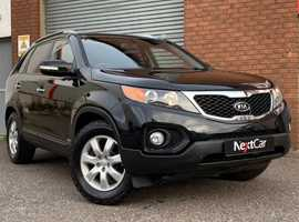 Kia Sorento 2.2 CRDI KX-2 4×4 7 Seater Only 1 Owner from New, and a Superb Full Service History (10 x stamps)