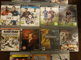 14 PLAYSTATION 3 GAMES IN GOOD CONDITION