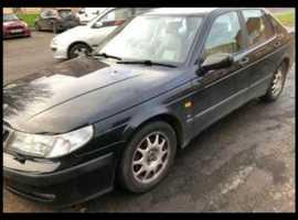 Saab 9-5, 1999 (V) Black Saloon, Automatic Petrol, 129,042 miles
