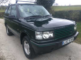 Land Rover Range Rover, 1998 (R) Green Estate, Automatic Diesel, 153,000 miles