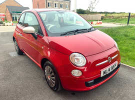 Fiat 500, 2014 (14) Red Hatchback, Manual Petrol, 45,860 miles