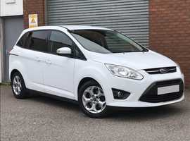 2013 Ford Grand C-Max 1.6 TDCI 115 Zetec, 7 Seater, with Low Miles and a Fantastic Full Service History