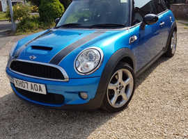 Mini Cooper S 07. Lovely Clean Car. Eye catching rare Matalic Blue. 1yr MOT. FSH.
