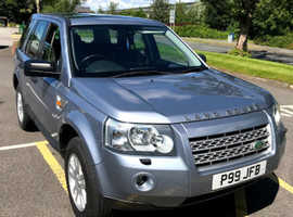 Land Rover Freelander, 2007 (07) SE Blue Estate, Manual Diesel, 118,600 miles