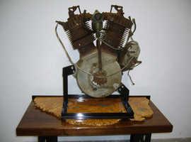 Harley Davidson V-Twin engine