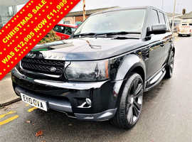 Land Rover Range Rover Sport, 2010 (10) Black Estate, Automatic Diesel, 69,904 miles