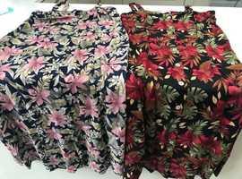 2 Floral dresses