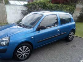 Renault Clio, 2003 (53) Blue Hatchback, Automatic Petrol, 37,000 miles