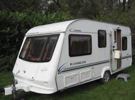2003 COMPASS RAMBLER 16/5  5 BERTH  DOUBLE DINETTE & BUNK.
