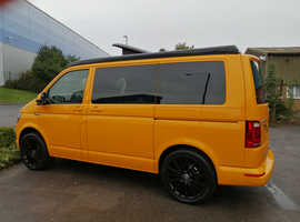 2019(19)  VW T6 in Chrome Yellow Campervan - Highline, SWB  Delivery Miles Only
