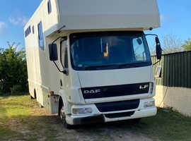 7.5 3 horse box 2003 Daf