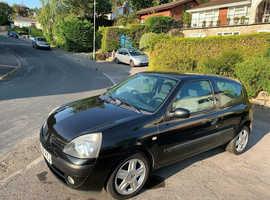 Renault Clio 1.2 Campus Sport 2006  only 58,000 miles Black 3 Door Manual Petrol,