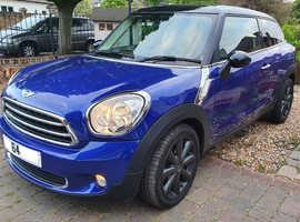 Mini MINI PACEMAN, 2014 (64) Blue Coupe, Manual Petrol, 25,588 miles