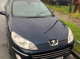 Peugeot 407, 2008 (58) Blue Saloon, Manual Diesel, 120,000 miles