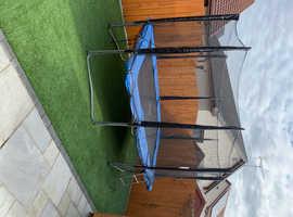 Olympic size trampoline c/w safety net