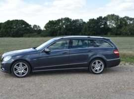 Mercedes E 350 Blue-Efficiency, 2010 (10) Grey Estate, Automatic Diesel, Avantgarde, 107,000 miles