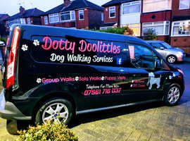 Dotty Doolittles dog walking services