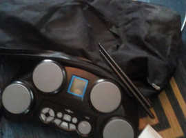 Electric drums and case