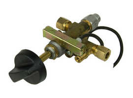 Brass Gas 8mm  Control Valve with sparker and leed