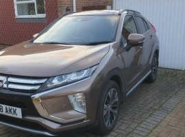 Mitsubishi ECLIPSE CROSS, 2018 (18) Brown hatchback, Manual Petrol, 7400 miles