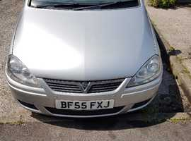 Vauxhall Corsa, 2005 (55) Silver Hatchback, Automatic Petrol, 90,500 miles 11 MTH MOT EXCELLENT CONDITION