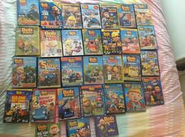 Bundle of Bob the builder dvds