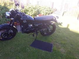 Herold CLASSIC black  motor bike 250cc as new
