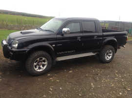 MITSUBISHI L200 WARRIOR BREAKING ALL PARTS AVAILABLE .